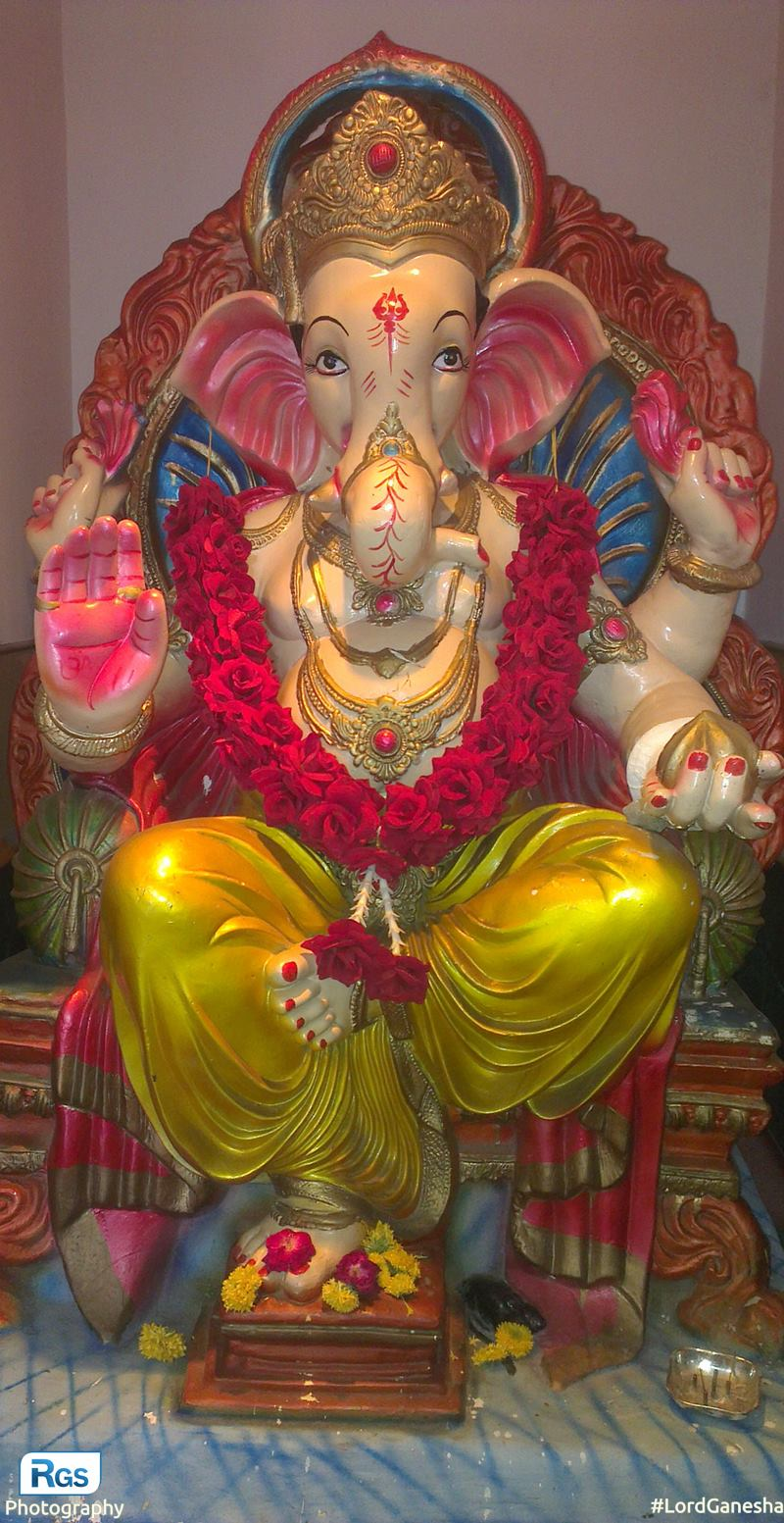 The Lord Ganesha (ganpatibappa)